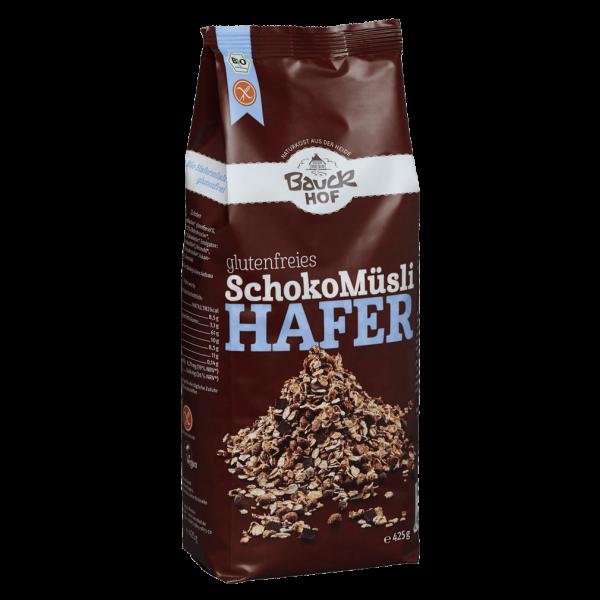 Bauckhof  Bio Schoko Müsli Hafer (glutenfrei)