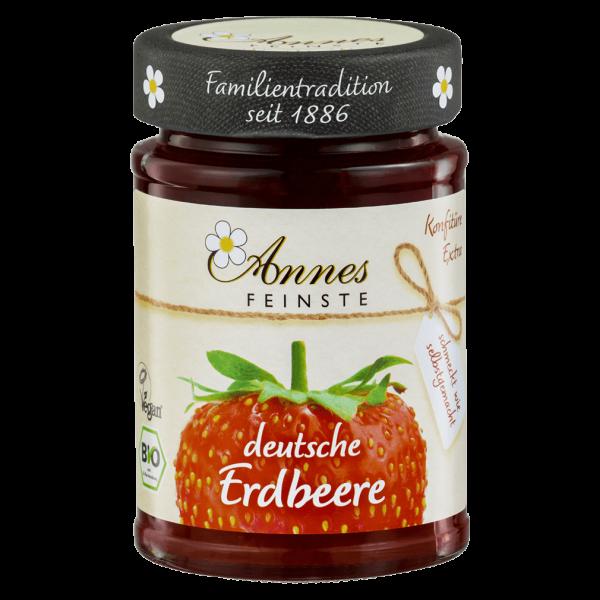 Annes Feinste Bio Erdbeer Konfitüre extra