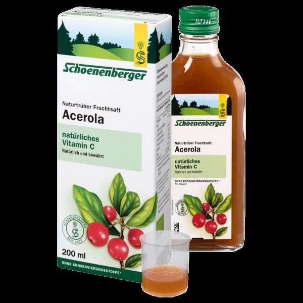 Schoenenberger Bio Acerola-Pflanzensaft