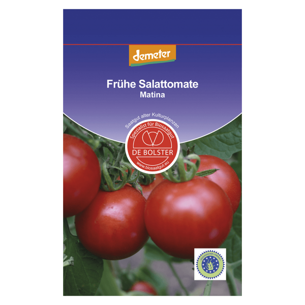 DE Bolster Bio Tomate, Matina