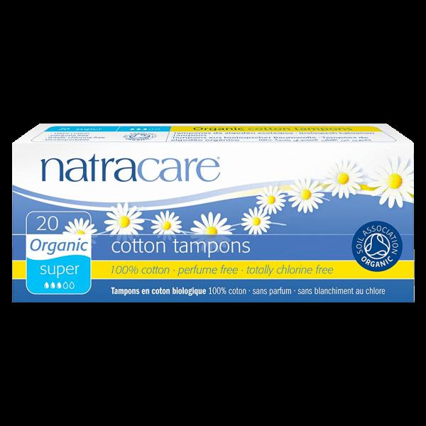 Natracare Bio Baumwoll Tampons Super
