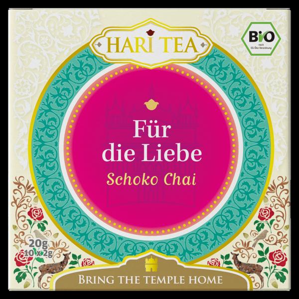 Hari Tea Bio Schoko Chai Für die Liebe