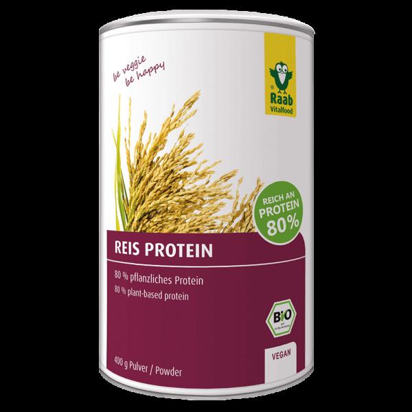 Raab Vitalfood Bio Reis Protein Pulver, 400g