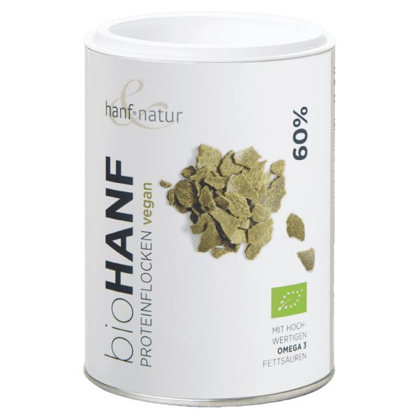 hanf natur Bio Hanf Proteinflakes