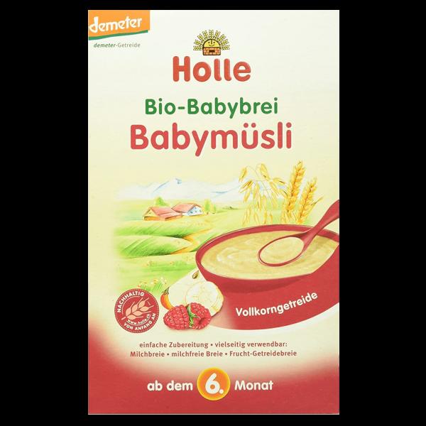 Holle Bio-Getreidebrei Babymüsli ab 6. Monat, 250 g