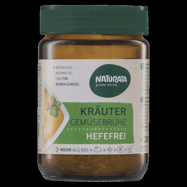 Naturata Bio Kräuter Gemüsebrühe hefefrei