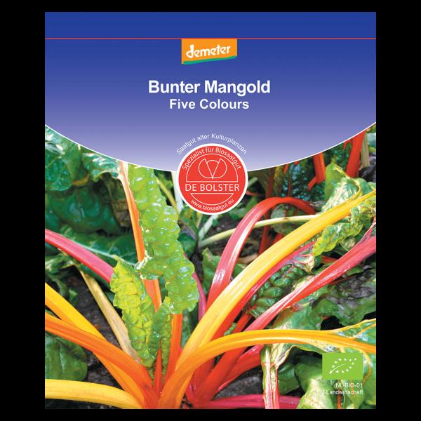 DE Bolster Bio Mangold, Five Colours