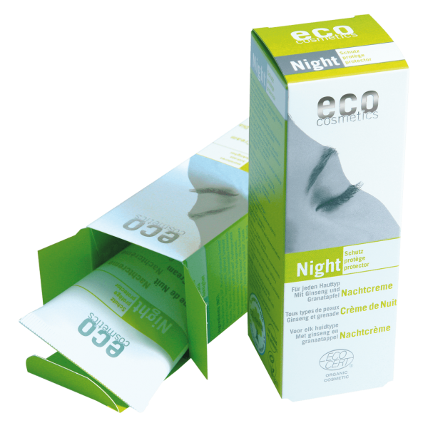 Eco Cosmetics Nachtcreme, 50ml